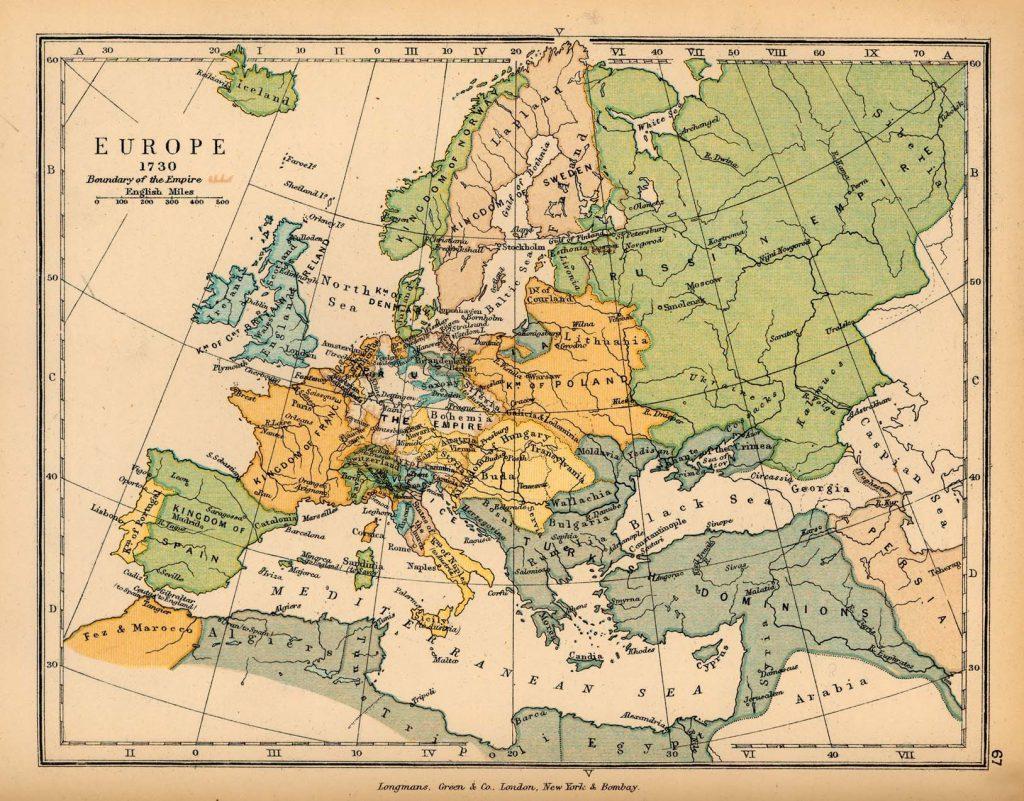 europe 1730