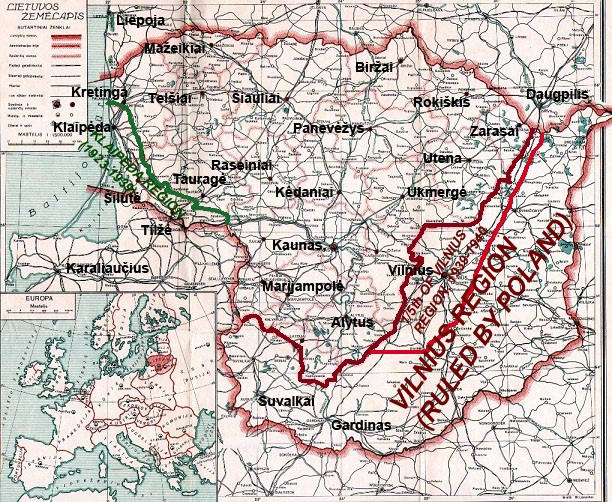 interwar occupied lt